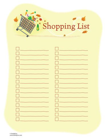 Shopping List Of Love | Chapel Of Grace Bradford | Rccg Church In